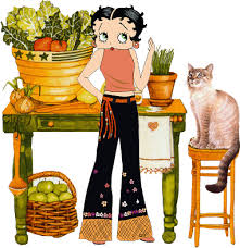jumpy betty boop graphics thanksgiving