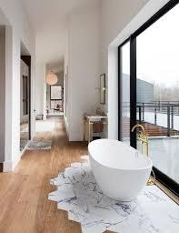 wood bathroom ideas 15 wood bathroom floors that wow