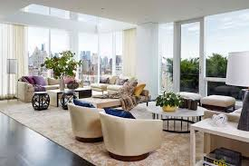 Living Room Furniture New York City 23 High Style New York City Penthouses The Study
