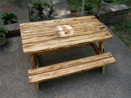 Diy Wood Picnic Tables by Ana White Child Picnic Table Diy Projects