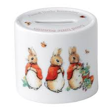 wedgwood rabbit rabbit girl s money box wedgwood us