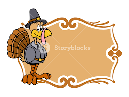 thanksgiving day turkey banner royalty free stock image storyblocks