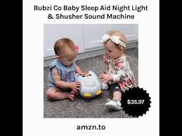baby light and sound machine bubzi co baby sleep aid night light shusher sound machine youtube