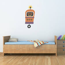 robot decals stephen edward graphics robot wall decal boy wall sticker children wall decals 3