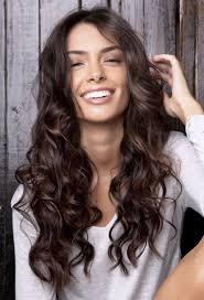 messy curls long haircuts for women