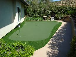 Artificial Backyard Putting Green by Putting Greens Artificial Turf Synthetic Grass Los Angeles