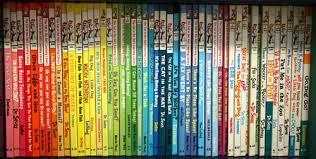 Dr Bookcase Chromatically Arranged Dr Seuss Books Neatorama