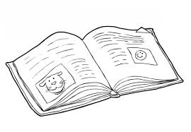 Book Coloring Pages Coloringsuite Com Books Coloring Page