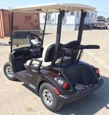 2018 yamaha gas golf cart metallic brown johnson manufacturing