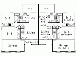 symmetrical house plans eplans country house plan stylishly symmetric duplex 1700