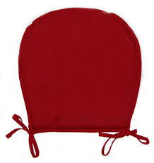 kitchen u shaped kitchen chair cushion in burgundy red wine