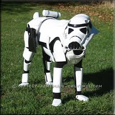 stormtrooper costume for a dog dog beds and costumes