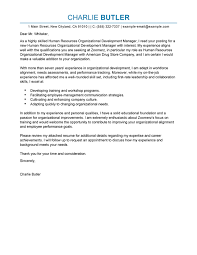 Get Your Resume Reviewed Best Organizational Development Cover Letter Examples Livecareer