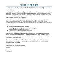 best organizational development cover letter examples livecareer