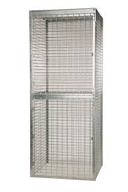 stor more tenant storage lockers u2013 welded wire folding guard