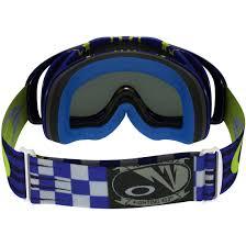 oakley motocross goggles oakley crowbar mx flight series sunday punchers dark grey goggles