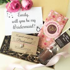 will you be my bridesmaid gifts will you be my bridesmaid gift box sweet gifts