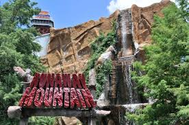 Dallas Tx Six Flags Runaway Mountain Roller Coaster Guide To Six Flags Over Texas