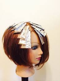 hair color and foil placement techniques 93 best foiled highlights for beauties images on pinterest