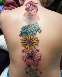 tribal spine tattoos creativefan