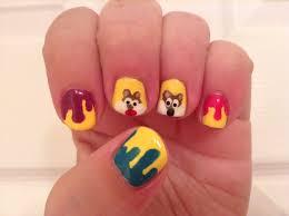 donald duck nail art disney nail art vẽ móng chú vịt donald