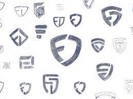 fanduel logo sketches by marcus kelman dribbble