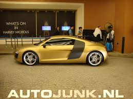 audi r8 gold dubai mall of the emirates r8 gold mat foto u0027s autojunk nl 27722