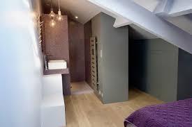 chambre parentale sous comble chambre deco chambre sous pente mezzanine chambre comble deco sous