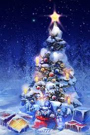 download christmas tree mobile screensavers for your cell phone