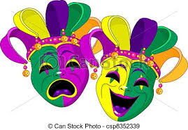 mardi mask mardi gras masks mardi gras comedy and tragedy masks eps vectors