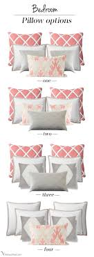 how to place throw pillows on a bed pin by setting for four on pillows pinterest chart pillows and