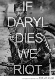 Walking Dead Daryl Meme - dear the walking dead writers the meta picture