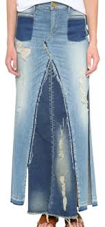 denim maxi skirt true religion pieced denim maxi skirt size 4 s 27 tradesy