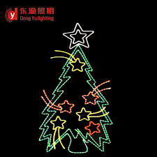 Commercial Grade Christmas Decorations by High Quality Commercial Grade 2d Sparkling Led Rope Light