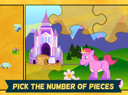 pony games for girls pony jigsaw puzzles for kids and toddlers