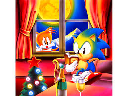 on the twelfth day of christmas retro gave to me sonic retro