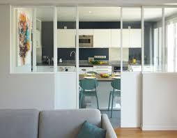 verriere coulissante pour cuisine maison proche séjour et cuisine relookés par archi et