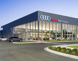 audi dealership design hendrick automotive group vannoy construction
