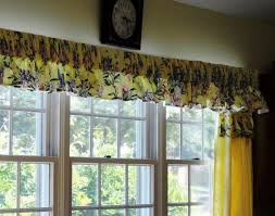 Yellow Kitchen Curtains Valances Stunning Yellow Kitchen Curtains Valances Gallery Ideas House