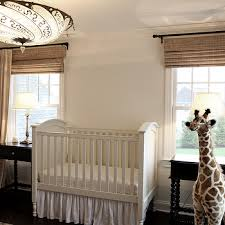 Jungle Nursery Curtains White French Pleat Nursery Curtains Design Ideas