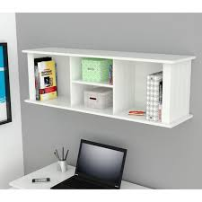 Desk Hutch Bookcase Winslow White Wall Mounted Desk Hutch Free Shipping Today