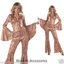 Disco Dancer Halloween Costume C200 Discolicious Disco Diva 70 U0027s Retro Dancing Fancy Dress Women