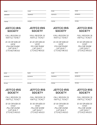 bbq tickets template ms word ticket template templates franklinfire co