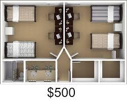 chico student apartment u0026 dorm floor plans craig student living