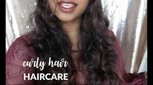curly hair humid weather haircare routine youtube