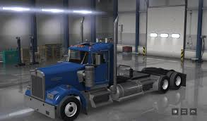 small kenworth trucks small cabin on long chassis mod american truck simulator mod