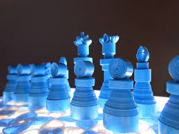 Diy Chess Set Making A Quilled Paper Chess Set With Light Up Board Make