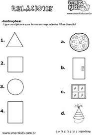 shape activity sheets for the older children şekil kavramı