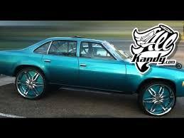 1976 malibu chevelle on 26 u0027s turquoise wet wet like candy paint