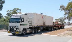 volvo trucks in australia road trains of australia